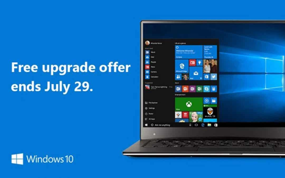Windows 10 upgrades £85 from July 30th