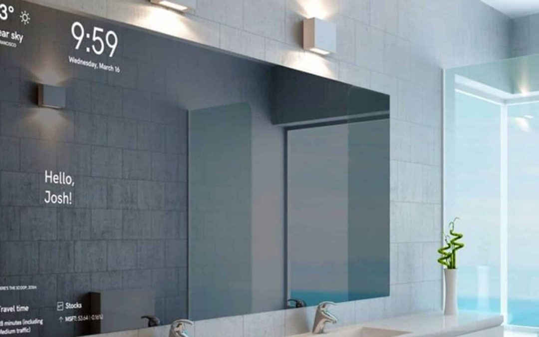 Microsoft's Magic Mirror that senses feelings