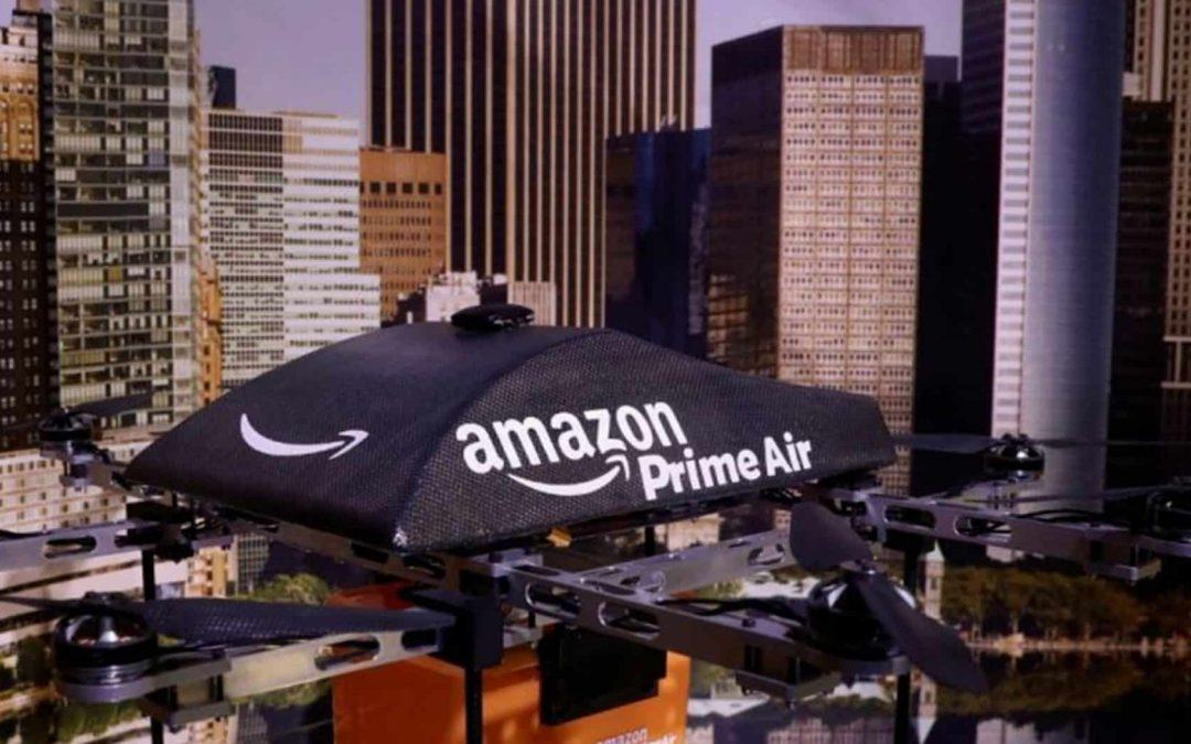 Amazon Begins Testing Delivery Drones In The UK