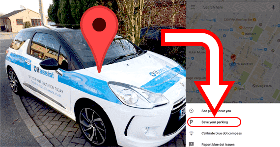 maps locator - You Can Now Find Your Car With Google Maps