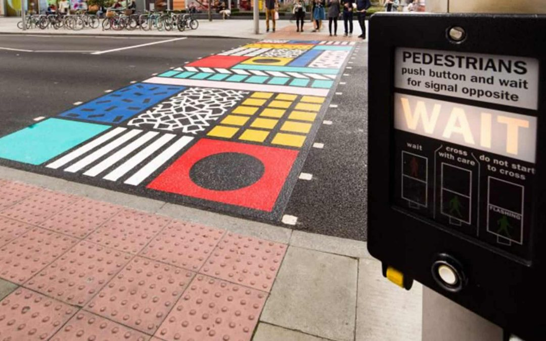 There's A Hidden Button On Pedestrian Crossings