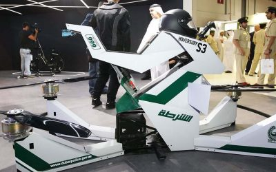 Dubai Police Introduce New Hoverbikes