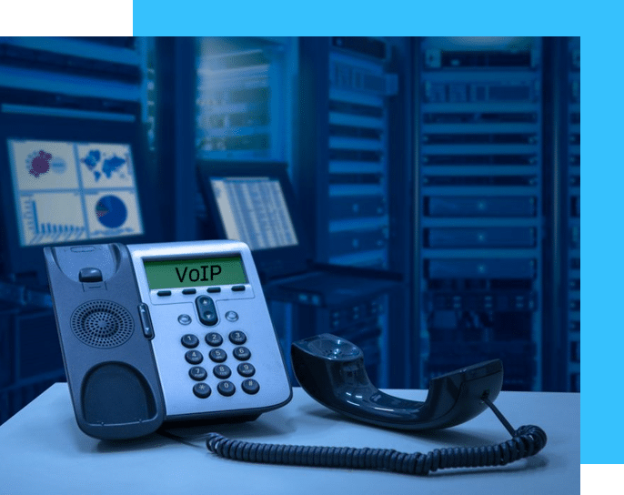 Cloud VoIP systems for large or small businesses